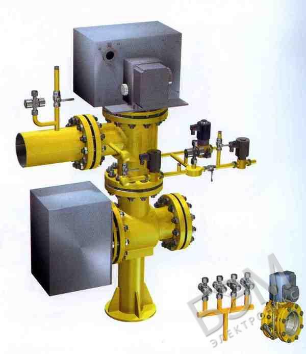 Блок газовых клапанов С2Н-3-15